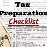 Bills Tax Service's 2017 Tax Preparation Checklist