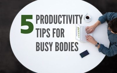 Five Productivity Tips for Centralia IL Busy Bodies