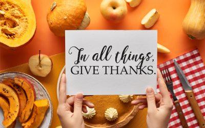 Cultivating Gratitude for Thanksgiving 2020 in Centralia, IL